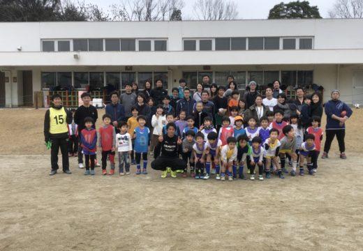 2/15(土) 津西サッカークラブ恒例の親子サッカーを開催しました!